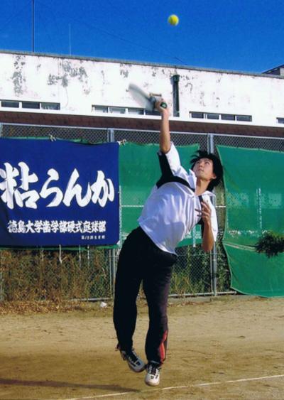 秋山先生大学時代